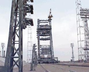 Construction of Baikonur Cosmodrome